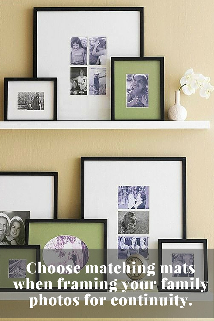 Wall decor ideas from Jennifer Decorates.com