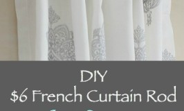 French Curtain Rod