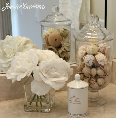 Rustic beach bathroom decor - Tips To Accessorizing A Beautiful Bathroom Jennifer Decorates