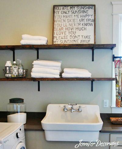 You can accessorize a bookshelf beautifully!  Jenniferdecorates.com
