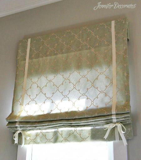 Modern Window Treatments from JenniferDecorates.com