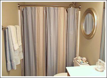 Bathroom Decorating Ideas Shower Curtain