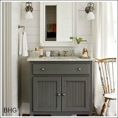 Bathroom decorating ideas to help you create your own little spa - Home decor bathroom vanities ...