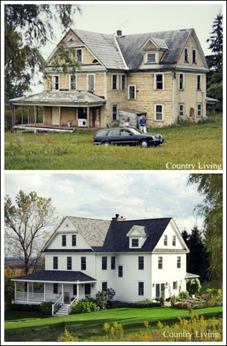 Before and after decorating pictures for Remodeling old homes