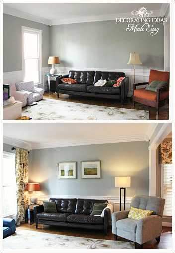 Before and after decorating pictures to give you inspiration - Pictures of decorated living rooms ...