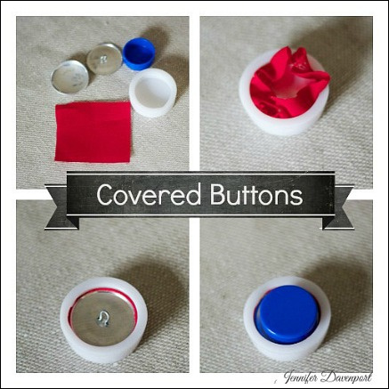 how to use a button kit