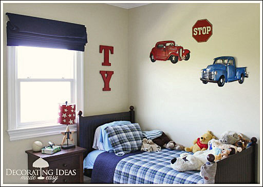 kids bedroom decorating ideas from jennifer decoratescom - Boy Bedroom Decor Ideas