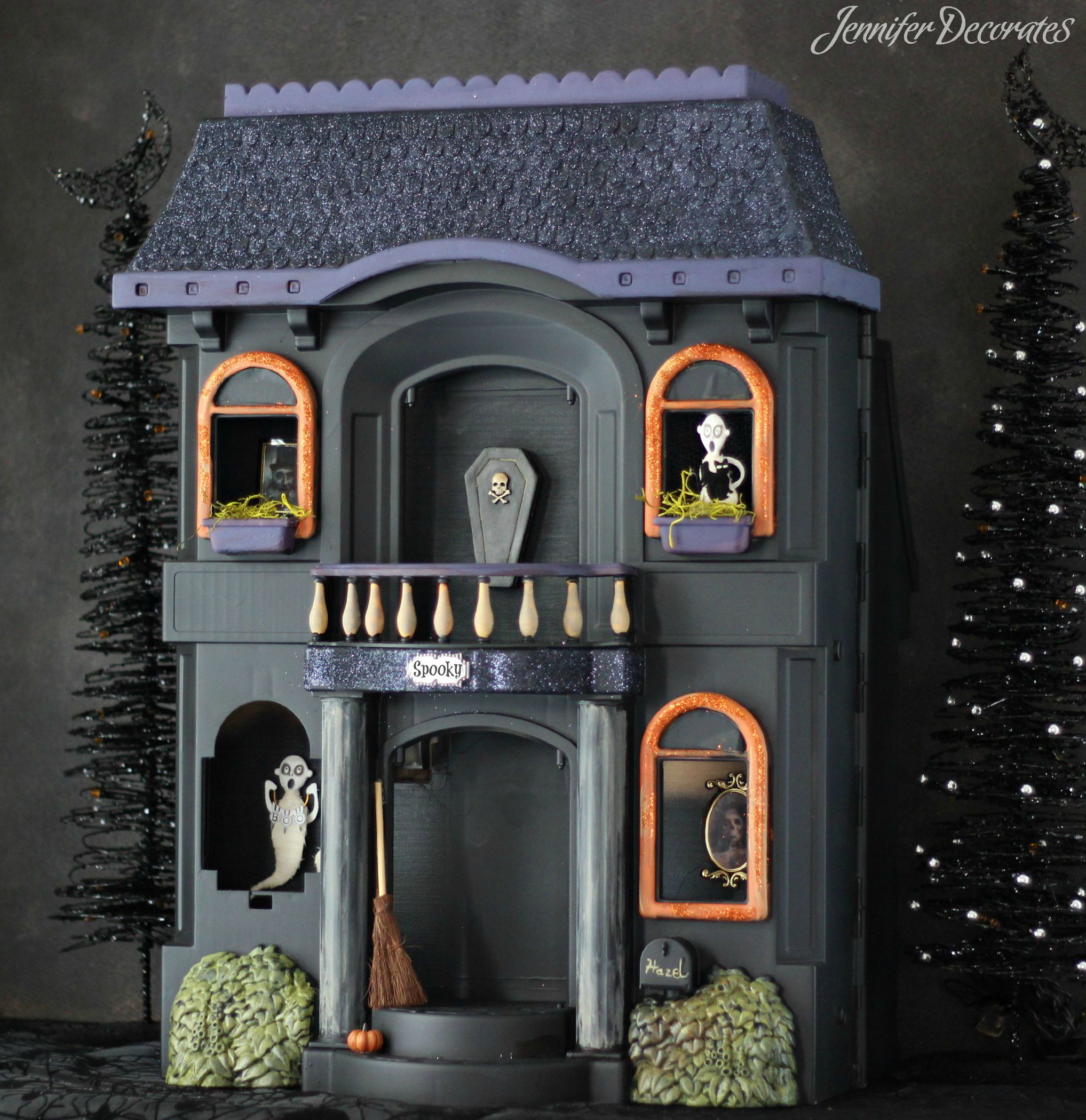 cheap halloween decorations from jennifer decoratescom - Cheap Halloween Decor Ideas