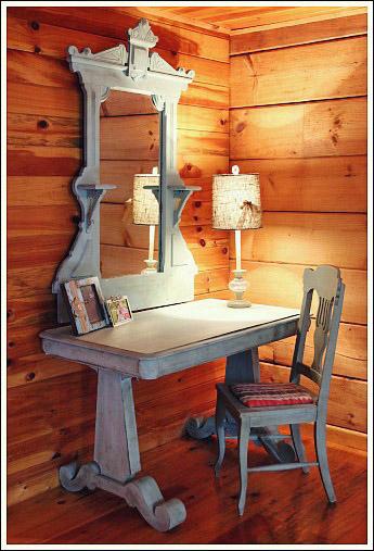 log cabin interior design see a guest bedroom makeover