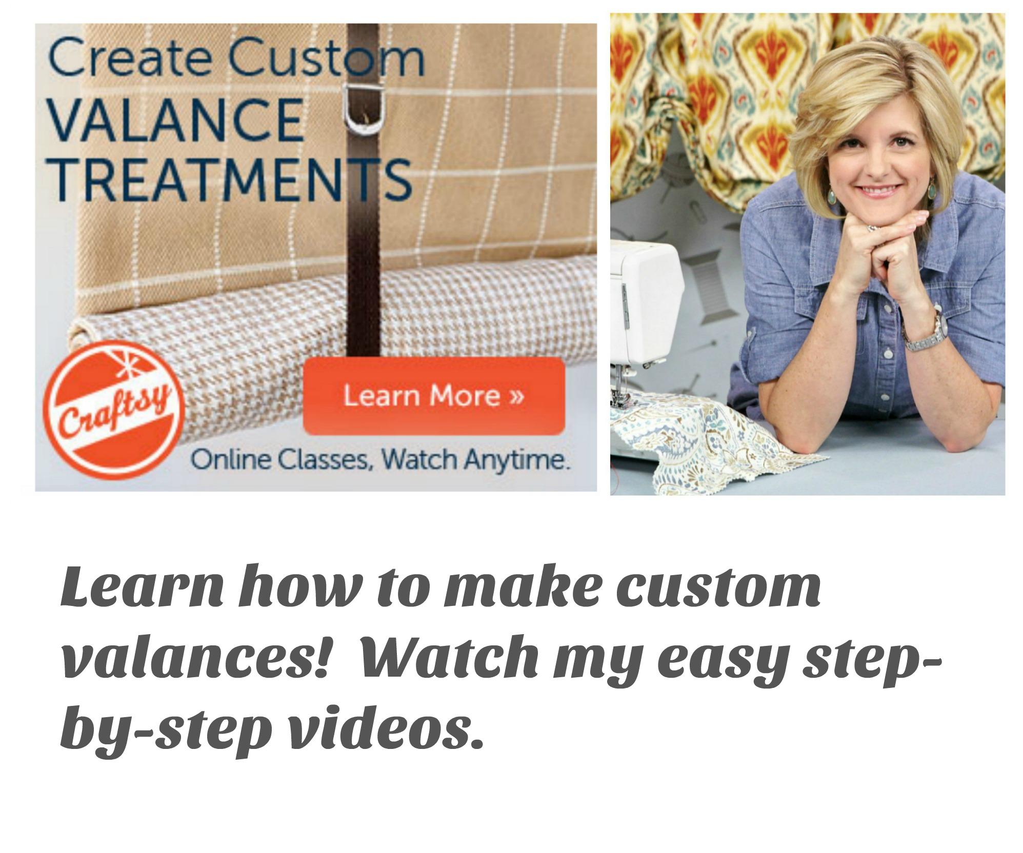 Make professional custom drapes!