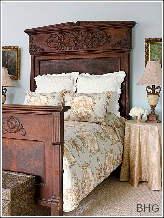 French country decorating ideas for French antique bedroom ideas