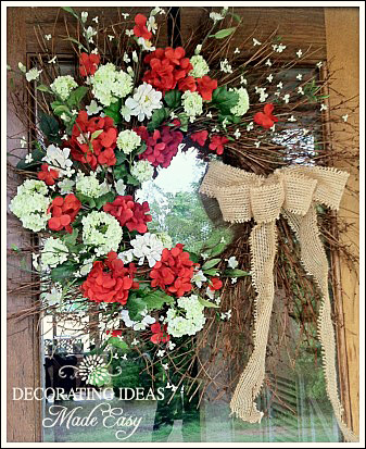 Front Door Wreaths by Jenniferdecorates.com