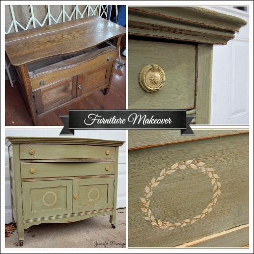 Chalk paint furniture from Jenniferdecorates.com