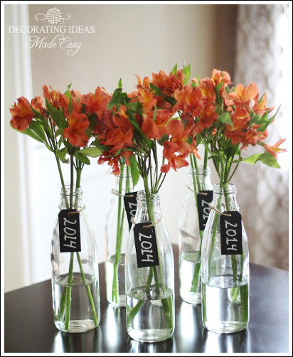 Graduation party decorating ideas centerpiece food