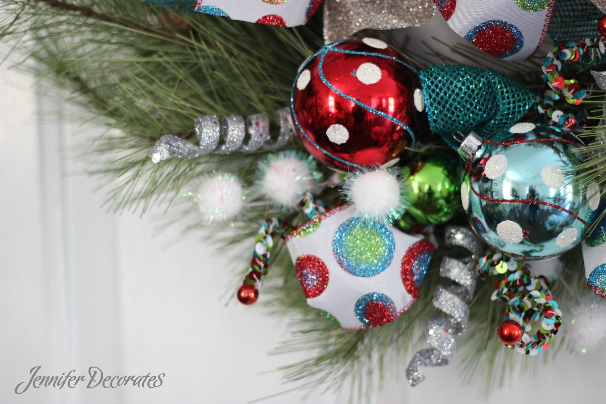 Christmas wreath ideas from Jennifer Decorates.com