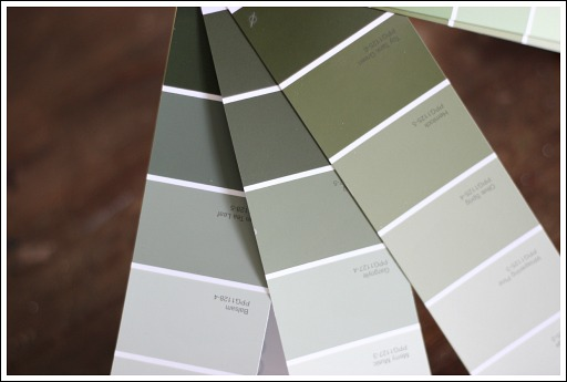 Picking Paint Colors from Jennifer Decorates.com