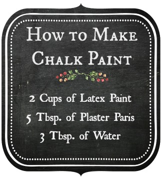 How to make chalk paint furniture from Jenniferdecorates.com