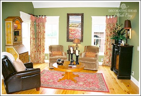 Decorating Ideas For Country Living Rooms french country decorating ideas!
