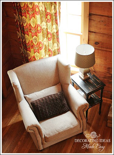 Log Cabin Interior Design – A delightful guest bedroom makeover