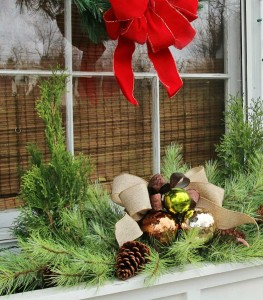 Christmas Window Box Idea