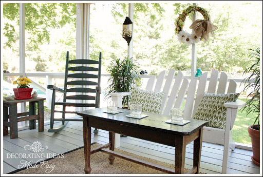 fabulous porch decorating ideas from jenniferdecoratescom - Porch Decor