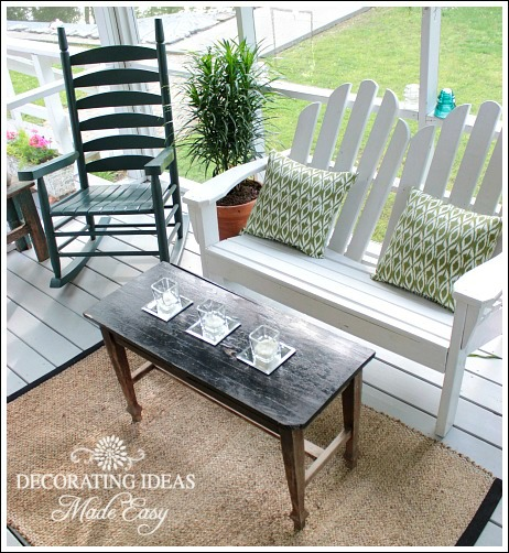 Decorating On A Budget porch decorating ideas on a budget!