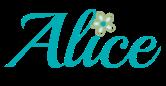 alice signature
