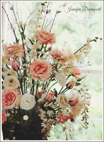 How To Make Floral Arrangements a silk flower centerpiece you can do yourself!