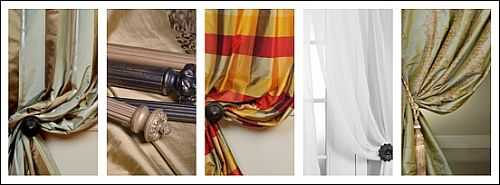 Do It Yourself Window Treatments: Bay Window Treatments You Can Do Yourself