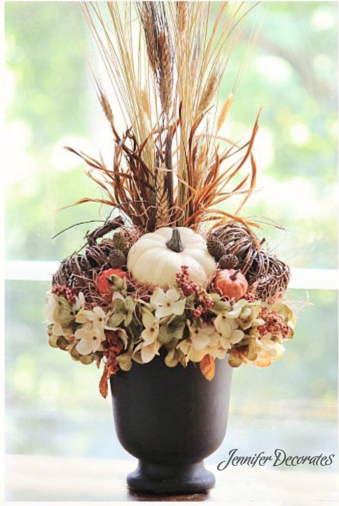 Autumn Flower Arrangement You Can Make For Under 25 Gorgeous