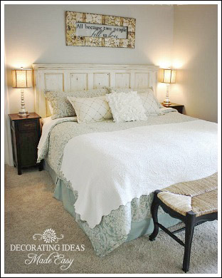 Beach Themed Bedroom - Easy and Cheap Decorating Ideas!