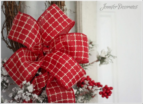 How To Tie A Christmas Bow.Christmas Bow You Can Make Yourself Step By Step Tutorial
