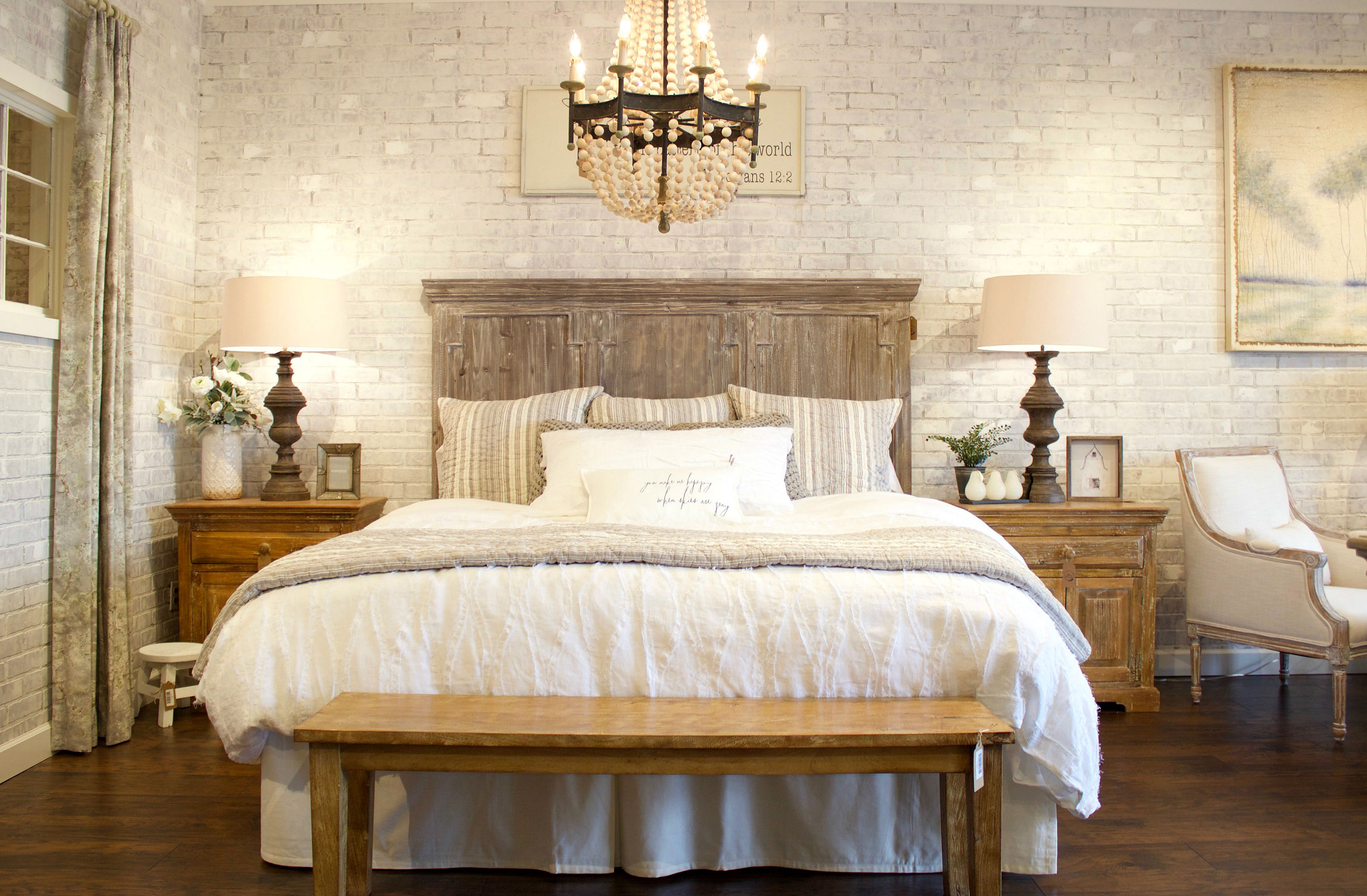 Faux Brick Wall Created From Paneling Jennifer Decorates
