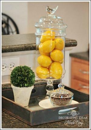 Idées d'accessoires de cuisine de Jennifer Decorates.coms - de Jenniferdecorates.com