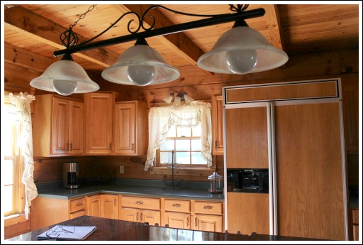 Log Home Decorating Ideas - Before and After Photos